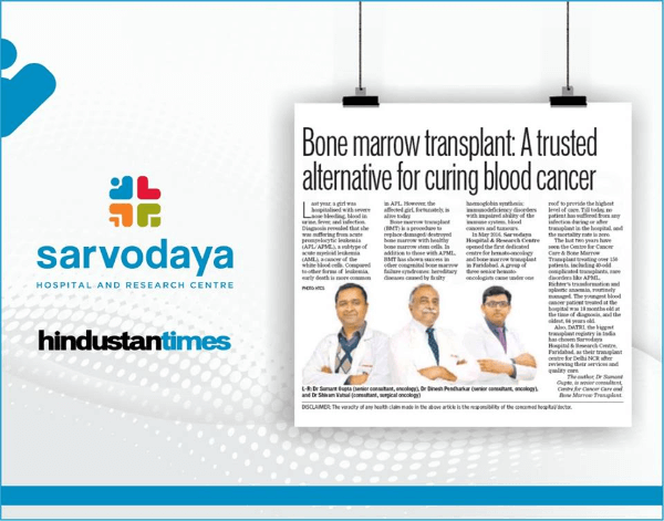 Bone Marrow transplant A trusted alternative for curing blood cancer