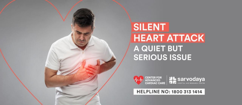 Silent Heart Attack, a quiet but serious issue
