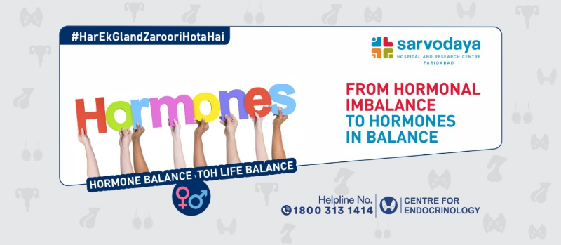 From Hormonal imbalance to Hormones in balance