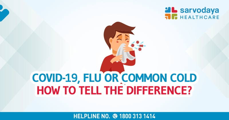 COVID-19 or Flu or Common Cold - How to Tell the Difference?