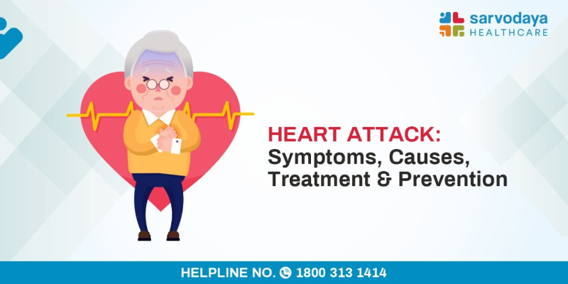 Heart Attack - Symptoms, Causes, Treatment, and Prevention