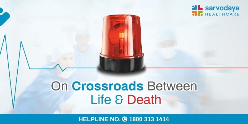 On Crossroads between life and death